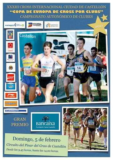 European Champion Clubs Cup Cross Country Castellon/ESP, 5 February 2012